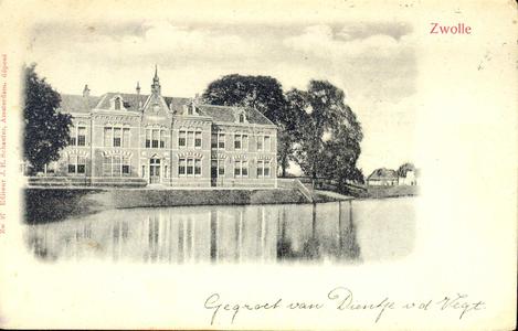 2949 PBKR3475 Menno van Coehoornsingel 16, de Praktische Ambachtsschool, ca. 1900, gebouwd door stadsarchitect J. van ...