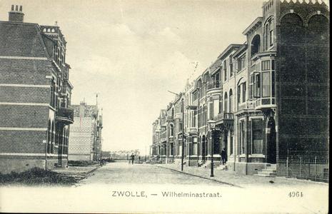 3222 PBKR4104 Wilhelminastraat ca. 1909 gezien vanuit de Veerallee naar het westen., 1909-00-00