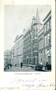 3654 PBKR0731 Gezicht op het gebouw van het provinciaal bestuur, toen ook wel het Gouvernementsgebouw genoemd, in de ...