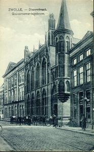 3657 PBKR0734 Het gebouw van het provinciaal bestuur, destijds het Gouvernementsgebouw genoemd. Het oudste gedeelte ...