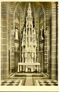 3830 PBKR0189 Assendorperstraat: interieur Dominicanenkerk, ca. 1925-1930: Sacramentsaltaar., 1925-00-00