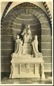 3834 PBKR0193 Assendorperstraat: interieur Dominicanenklooster, ca. 1925-1930: Claustrum, Kloostergang: ...