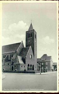 3842 PBKR0201 RK Sint-Jozefkerk, ca. 1935. Gebouwd 1932-1933 door archtiect Johan H. Sluijmer sr., vanaf 1997 zijn in ...