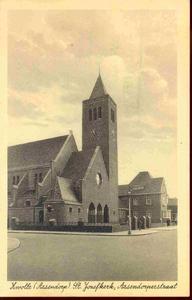 3843 PBKR0202 RK Sint-Jozefkerk, ca. 1935. Gebouwd 1932-1933 door architect Johan H. Sluijmer sr., vanaf 1997 zijn in ...