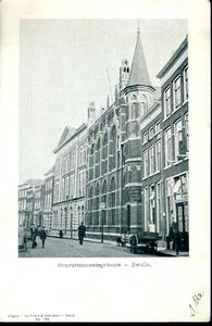 3848 PBKR0745 Gezicht op het gebouw van het provinciaal bestuur, toen ook wel het Gouvernementsgebouw genoemd, in de ...