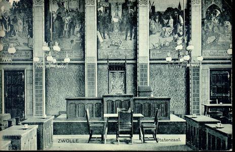 3857 PBKR0754 Interieurfoto van de Statenzaal in het vroegere provinciehuis. De Statenzaal bevindt zich in het ...