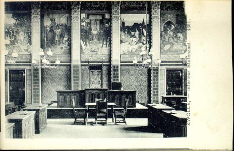 3859 PBKR0756 Interieurfoto van de Statenzaal in het vroegere provinciehuis. De Statenzaal bevindt zich in het ...