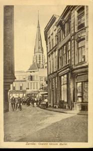 3914 PBKR1346 De Korte Ademhalingssteeg loopt van de Sassenstraat naar de Grote Markt met zicht op de Grote Markt 8 en ...