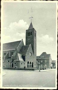 4025 PBKR0204 RK Sint-Jozefkerk, ca. 1935. Gebouwd 1932-1933 door architect Johan H. Sluijmer sr., vanaf 1997 zijn in ...