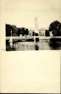 4200 PBKR2532 Gezicht vanuit het zuidoosten vanaf het Klein Wezenland (vanaf 1933 Burgemeester van Roijensingel) op de ...