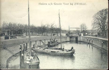 4357 PBKR1968 Wie vroeger haast had kon na aankomst bij het Katerveer de paardentram naar Zwolle nemen. Daartoe moest ...