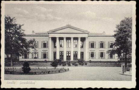 5331 PBKR2730 Paleis van Justitie (gebouwd 1841 door architect E.L. de Coninck) Blijmarkt 20, gezien vanaf de zijde ...