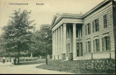 5341 PBKR2740 Het Paleis van Justitie (uit 1841, ontworpen door architect E.L. de Coninck) aan de kant van de ...