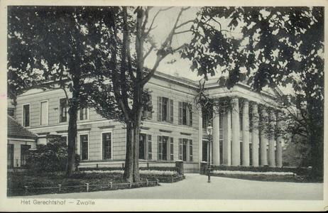 5350 PBKR2749 Potgietersingel met achterzijde Paleis van Justitie, ca. 1930., 1930-00-00