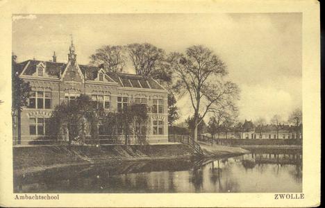 5671 PBKR2242 Menno van Coehoornsingel 16, het Flevogebouw, 1928. Het Flevogebouw werd in 1898 gebouwd als Practische ...