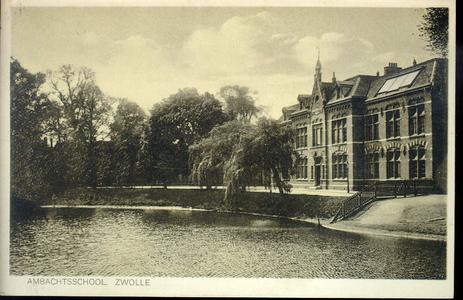 5672 PBKR2243 Menno van Coehoornsingel 16: Flevogebouw gezien vanaf de Burgemeester Drijbersingel, ca. 1928. Het ...
