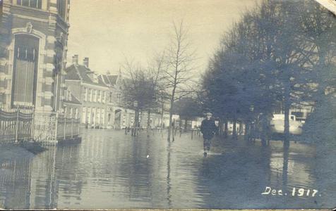6214 PBKR1754 Vóór de Afsluitdijk gereed was deden zich in Zwolle dikwijls overstromingen voor ten gevolge van hoog ...
