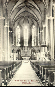 6289 PBKR2913 Roggenstraat, interieur van de R.K. Sint-Michaelskerk, ca. 1910-1915., 1910-00-00