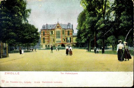 632 PBKR3680 Ter Pelkwijkpark 22: het Gouverneurshuis, ca. 1900. (Hôtel van de Commissaris van de Koningin) gebouwd ...