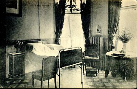 6413 PBKR1234 Interieur van de 1e klasse kamer in het oude gedeelte uit 1902 van het R.K. ziekenhuis aan de ...