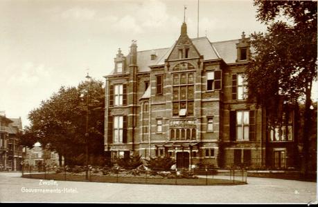 834 PBKR3713 Ter Pelkwijkpark 22: Gouverneurshuis. Gebouwd 1892 door rijksbouwmeester J. van Lokhorst, gesloopt maart ...