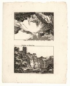 1055 -TP000955 Vel met twee afbeeldingen (voor een illustratie in een kalender). Twee afbeeldingen. Abeelding 5: De ...