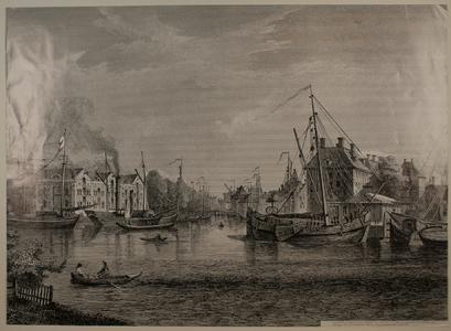 211 -TP001094 Gezicht op de Thorbeckegracht met rechts het Hopmanshuis.