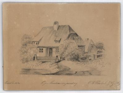 259 -TP001106 Boerderij in Zwollerkerspel. Omgeving van Zwolle., 1881