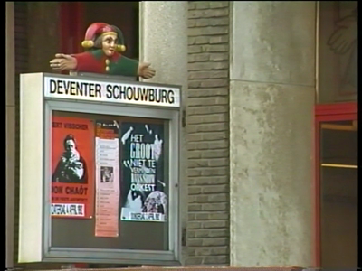 231 BB08706 Een band van Kabel Omroep Deventer (KOD), later opgegaan in Deventer Radio Televisie (DRTV), met ruwe ...