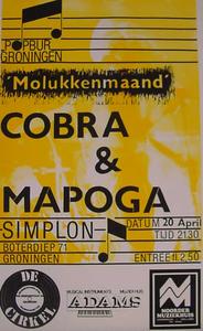 Popburo : affiche groepenpresentatie Molukkenmaand