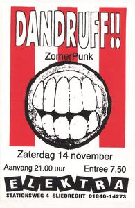 Dandruff!! : affiche