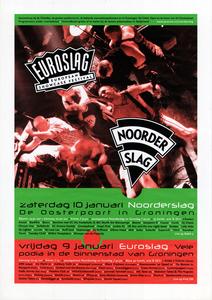 Euroslag Noorderslag 1998 : affiche