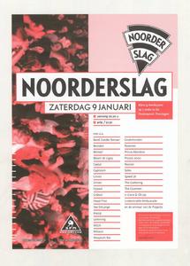 Omschrijving: Affiche Noorderslag 1999<br/> <br/>Dit affiche is opgenomen in de collectie van Poparchief Groningen onder nummer: 2410-22640