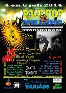 Pagepop & Opblaaspop : affiche festival 2014