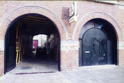 Simplon : oude en nieuwe ingang, Boterdiep in Groningen