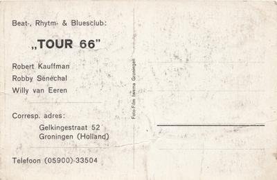 Tour 66 : achterkant fotokaart