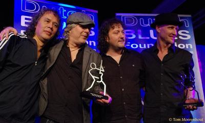 King of the World : foto genomen tijdens uitreiking Dutch Blues Awards 2013, Hotel de Rustende Jager te Nieuw-Vennep