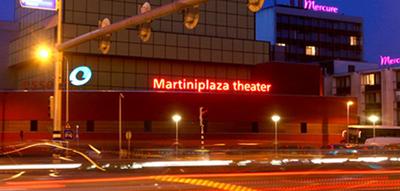 Martiniplaza theater : exterieur langs Laan 1940-1945, Groningen