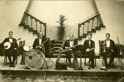 Huize Maas : foto van een optreden in Huize Maas