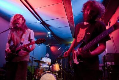 Wolvon : foto van een optreden tijdens Grunnsonic 2013