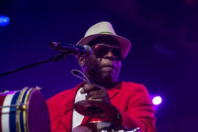 Noorderslag 2016 : Surinaams Goud met muzikant Edgar Burgos in Grote Zaal van De Oosterpoort
