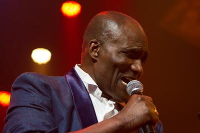 Noorderslag 2016 : Surinaams Goud met zanger Oscar Harris in Grote Zaal van De Oosterpoort