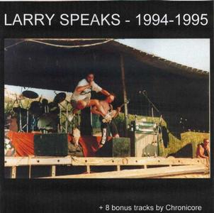 Larry Speaks : hoes voorkant