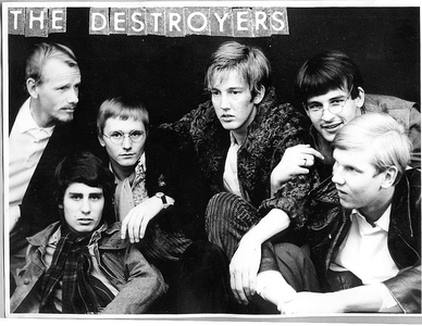 the destroyers bandfoto