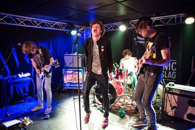 Noorderslag : optreden band Afterpartees