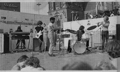 Live op de Grote Markt 1971