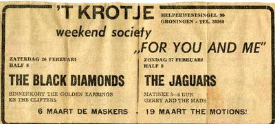 't Krotje : advertentie