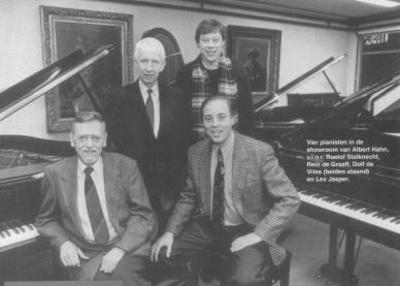 Roelof Stalknecht, Rein de Graaff, Dolf de Vries, Lex Jasper