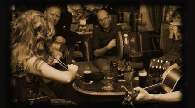 O' Calleigh : interieur met muzikanten