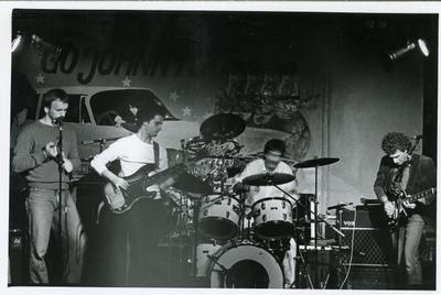 Groepenpresentatie Popburo : optreden South Side Bluesband in Simplon
